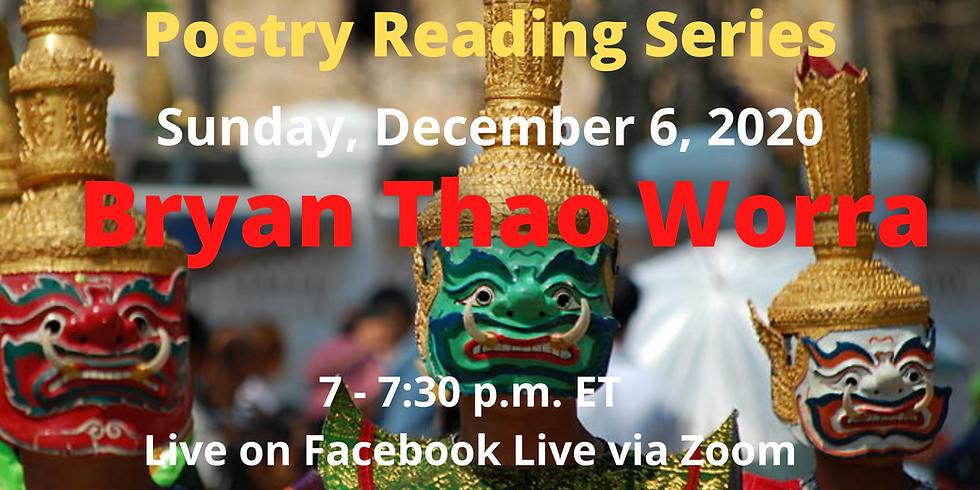Speculative Sundays Poetry Reading Series Presents Bryan Thao Worra