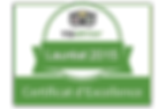 certificat d'excellence tripadvisor 2015 restaurant Le Valgo