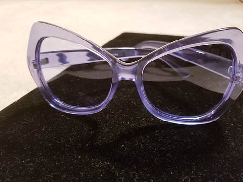 Blue Iconic Butterfly Sunglasses