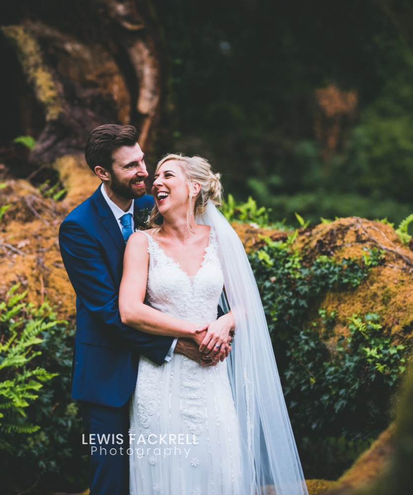 Rhianwen and Oli at Plas Glansevin