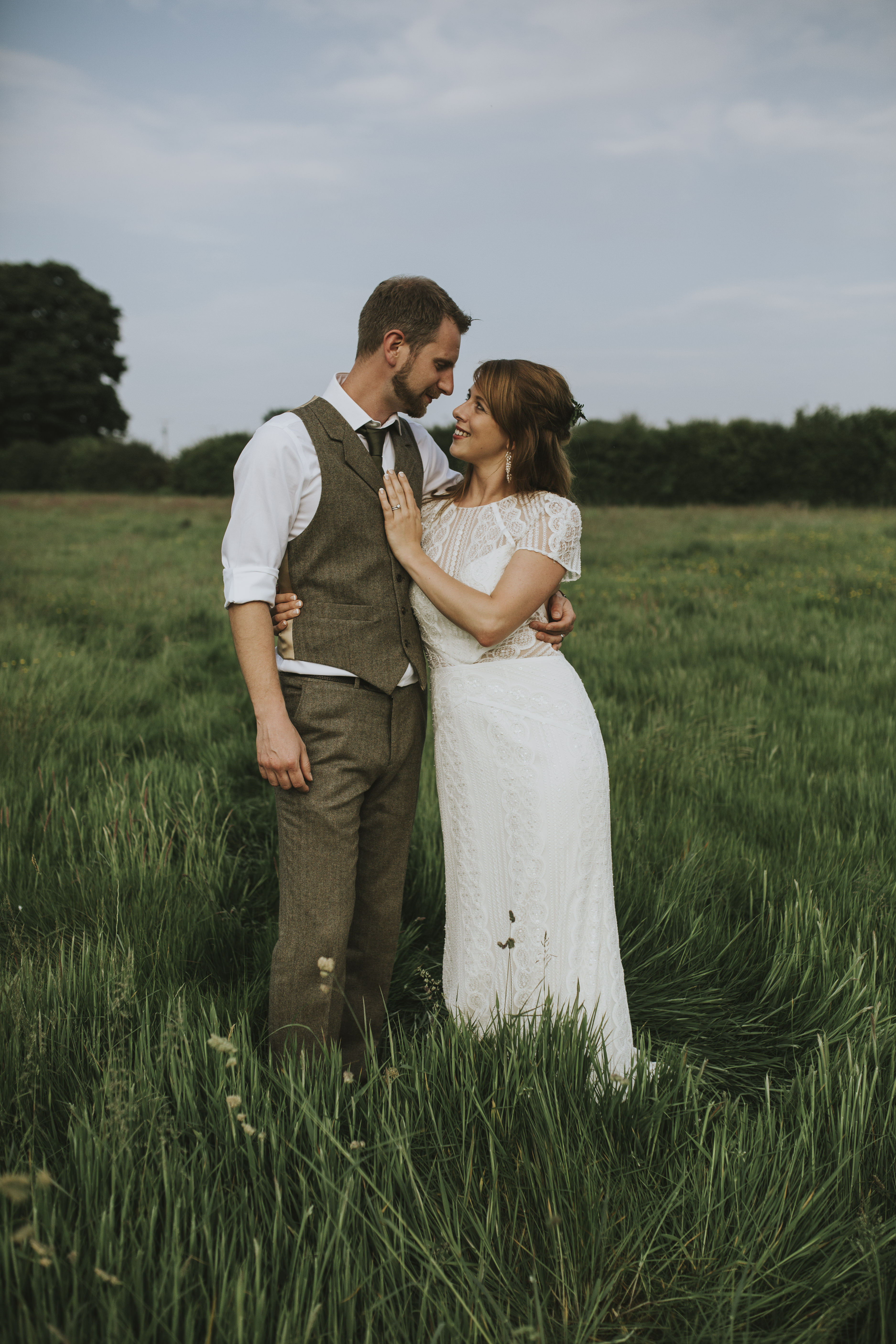 Botanical Tipi Wedding in the Welsh Hills