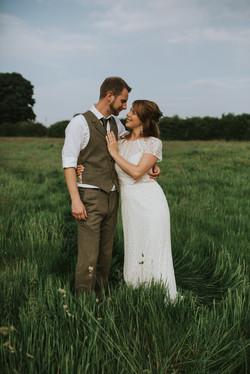 Botanical Tipi Wedding in the Welsh Hills