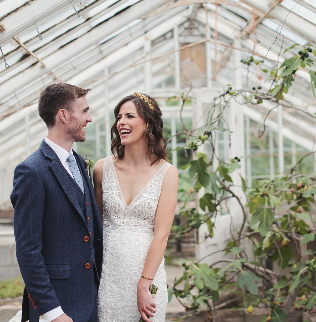 Donna and Rob's Stunning Glass House Wedding at Plas Dinam