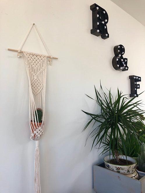 Macramé Plant Hanger/Wall Hanging