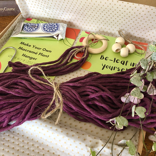 Macramé Plant Hanger Craft Kit