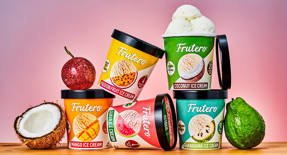 Frutero Ice Cream - 100% Real Fruit Ice