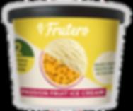 Best Passion Fruit Ice Cream. Frutero Passion Fruit Ice Cream