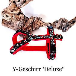 """Y-Geschirr """"Deluxe"""""""