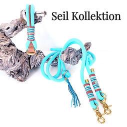 Seil Halsbänder und Leinen