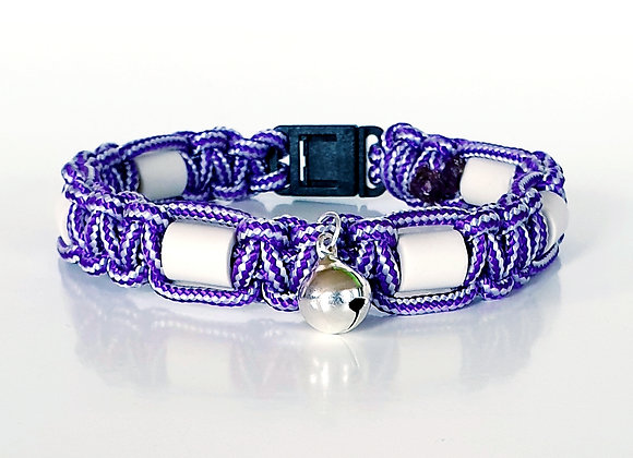 "EM-Katzenhalsband ""Purple"""