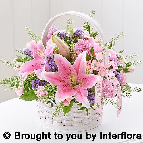 Large Happy Mothers Day Basket