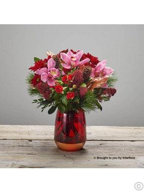 Opulent Orchid Vase