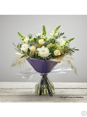 Winter Wishes Hand Tied