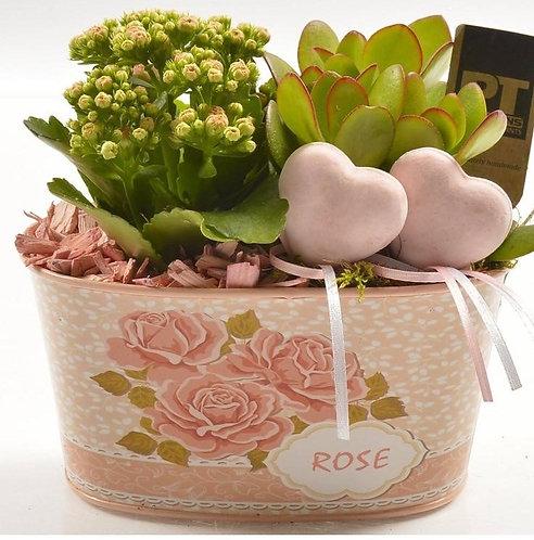 Rose Oval Planter