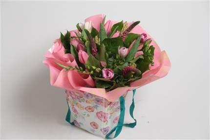 Pink Spring Giftbag