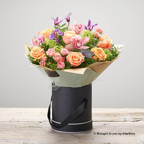 Plush Orchid Hatbox