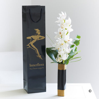 Mini Cymbidium Orchid Vase