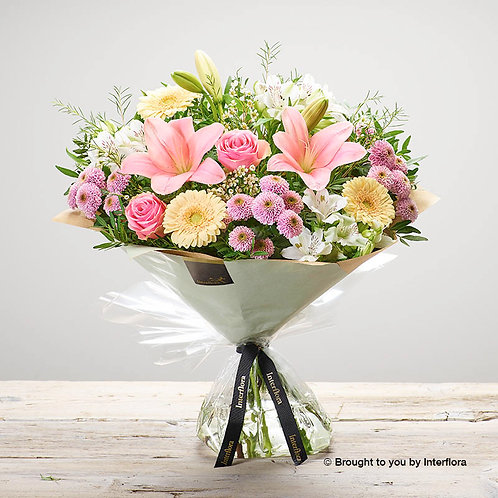 Large Mothers Day Pastels Hand Tied