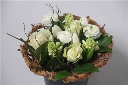 White Banana Bouquet
