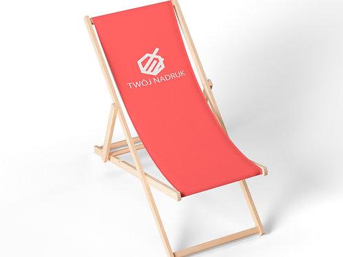 Leżak plażowy z nadrukiem