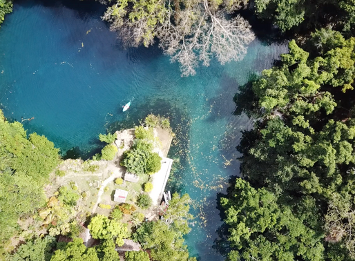 Environmental Vandals at the Blue Hole