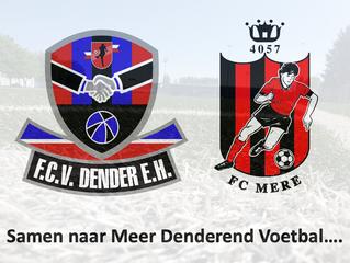 Samenwerking tussen FC Mere en FCV Dender EH