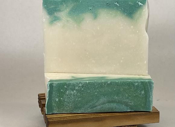 sweet mint soap bar