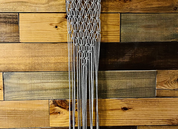 Simple Grey Wall Hanging
