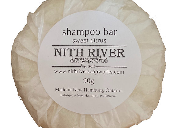shampoo bar - sweet citrus