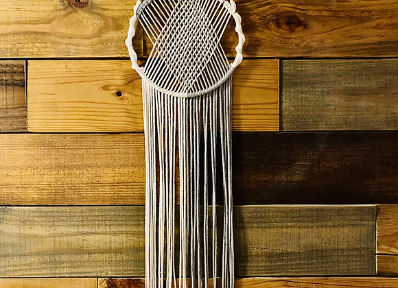 Circle Weave Wall Hanging