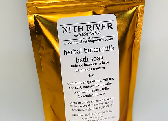 lavender buttermilk bath soak