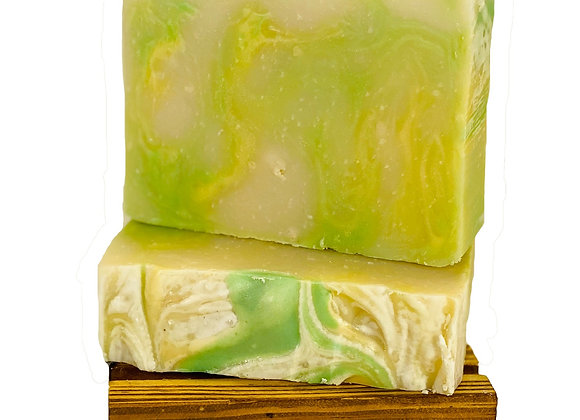 beach daisy soap bar