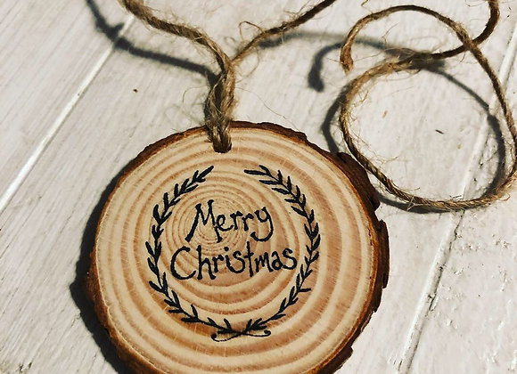 Wood Gift Tags (pack of 5)
