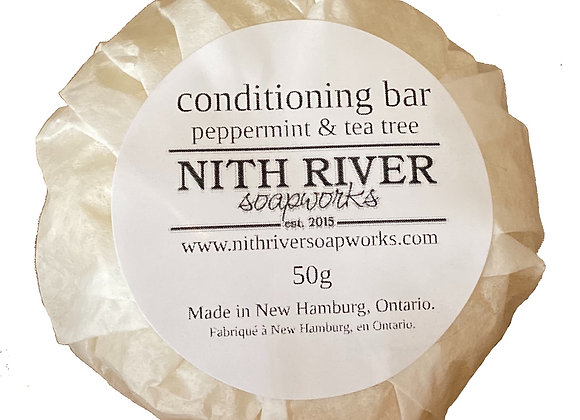 conditioning bar - peppermint & tea tree
