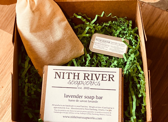 loving lavender gift box