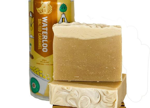 caramel porter soap bar