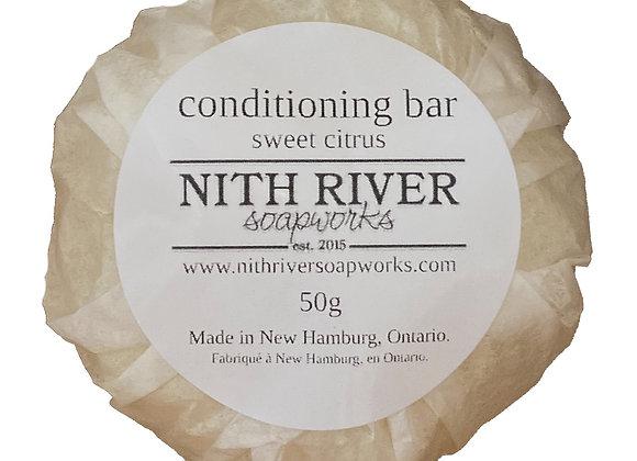 conditioning bar - sweet citrus