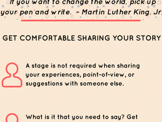Write That Book Already: Get Comfortable Sharing Your Story