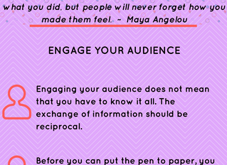 Write That Book Already: Engage Your Audience