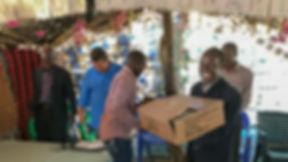 bible distribution Mozambique
