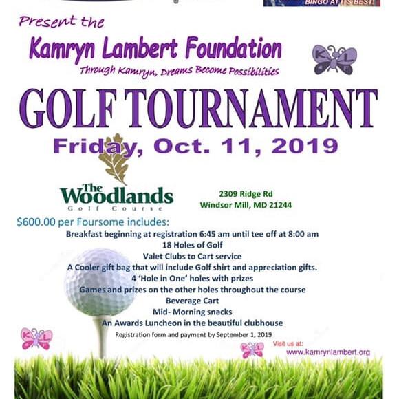 Kamryn Lambert Memorial Golf Tournament