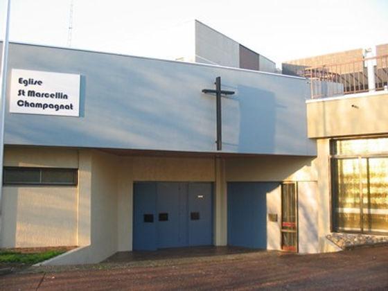 Fonsala Eglise Saint Marcellin Champagnat Saint Chamond