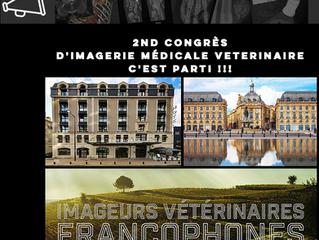 VEDIM, partenaire du second congrès d'imagerie médicale vétérinaire francophone à Bordeaux (Fran