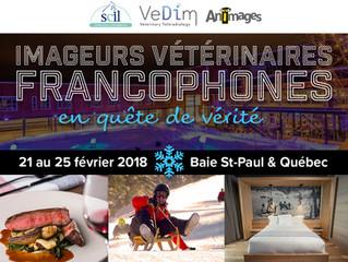 VEDIM, partenaire du premier congrès d'imagerie médicale vétérinaire francophone au Québec