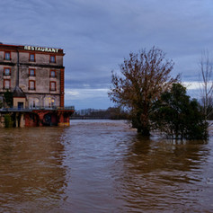 Inondation du Tarn à Moissac - 40