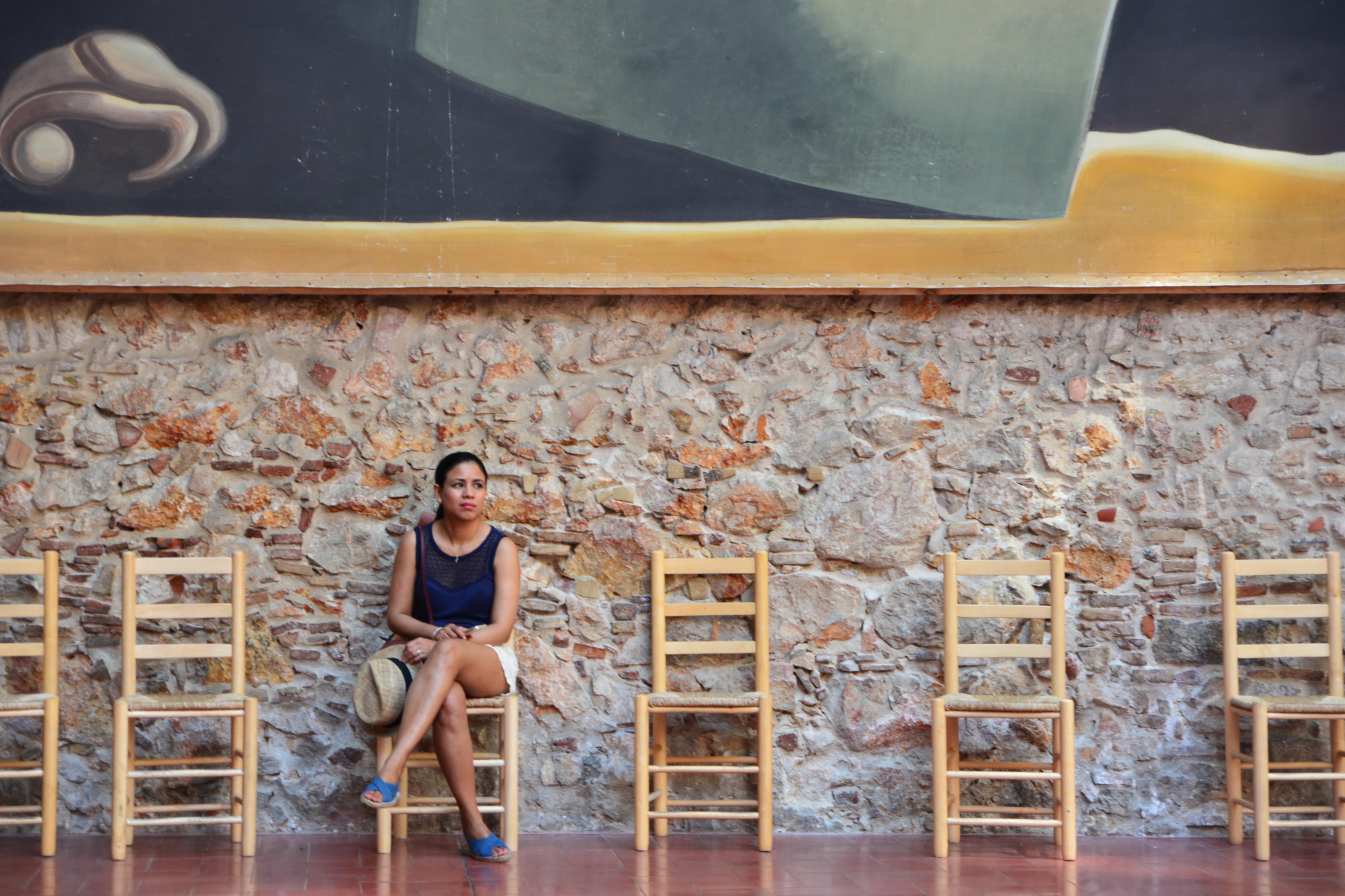 Pose au Musée Dali