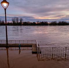 Inondation du Tarn à Moissas - 43