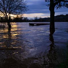 Inondation du Tarn à Moissac -2