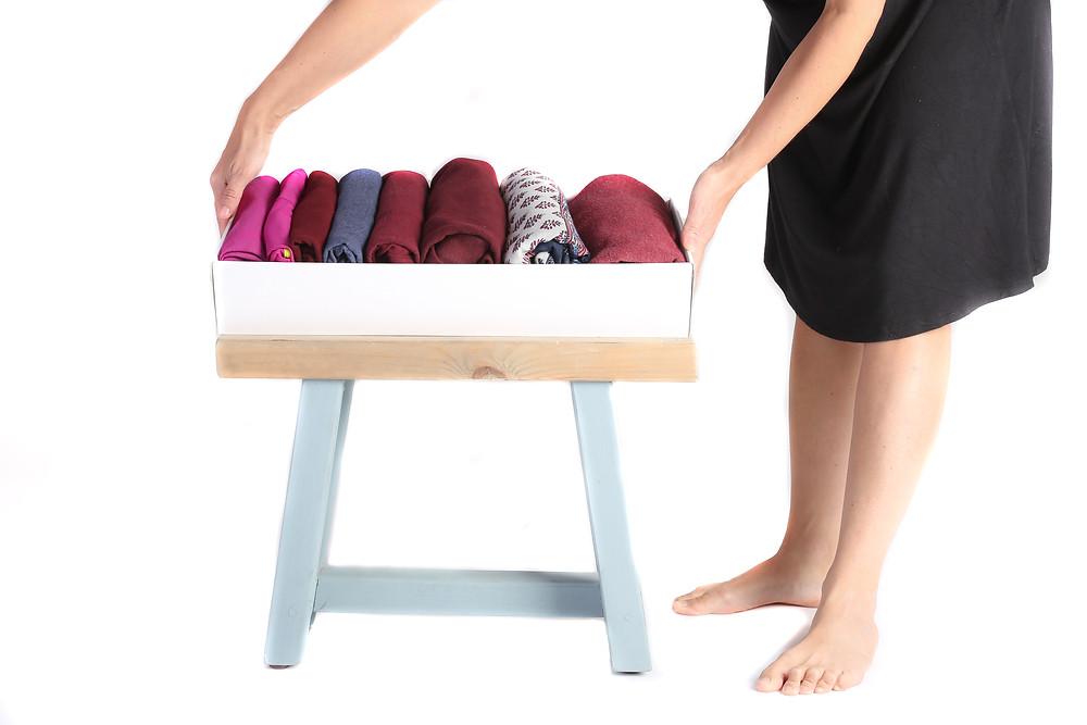 סדר וארגון ברון הבגדים מאוד חשוב להתנהלות יומיומית. אם הנכם מקפלים בגדים בשיטה היפנית של קון- מארי, לנו בקימונו, יעוץ לסדר וארגון, יש את הפתרון לאחסון הבגדים המושלם עבורכם