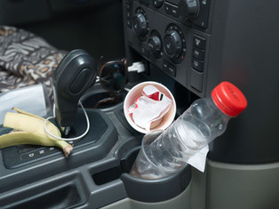 האוטו שלך הוא לא פח אשפה. 5 טיפים מנצחים בנושא